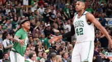 Isaiah Thomas and Al Horford 'get this mother rocking' to give the Celtics a 3-2 series lead