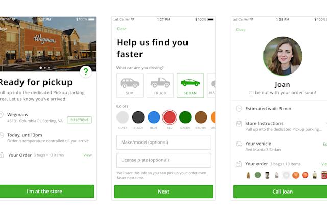 Instacart's grocery pickup service is live in a handful of cities