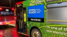 London buses turned into ambulances to ease Covid strain
