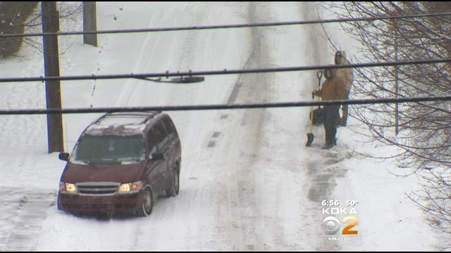 Pittsburghers Eager To Say Goodbye To Winter