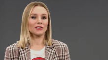 Watch Kirsten Bell talk about her first time 'doing it'
