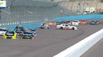 Long, Hornish wreck early at Phoenix