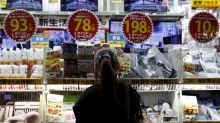 Japanese inflation ticks up as oil rises but BOJ target remains elusive
