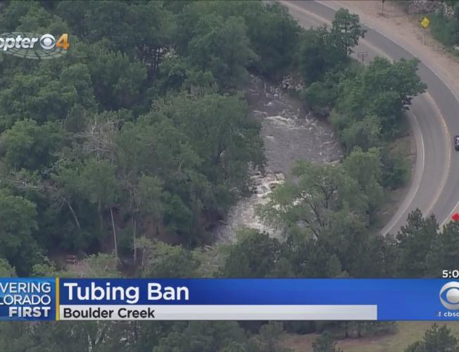 Boulder Creek Makes Tubing Off Limits