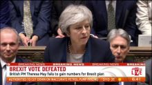 Breaking News: Brexit vote defeated