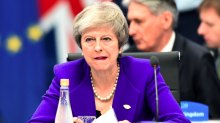 'That's not right': Theresa May accuses MPs of trying to frustrate Brexit as support for deal disintegrates