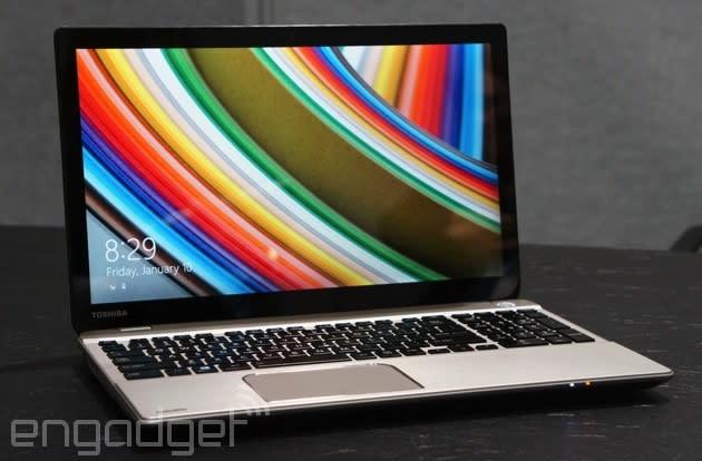 Toshiba's high-res 3,840 x 2,160 laptop should arrive mid-year