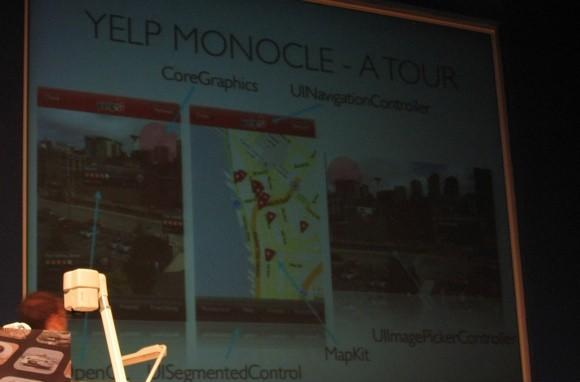 Voices that Matter iPhone: How Ben Newhouse created Yelp Monocle, and the future of AR