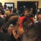 Howard Student Protesters Blocked from Entering for Comey's Speech