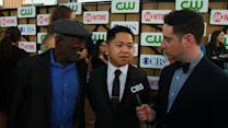 Red Carpet: Interview with 2 Broke Girls stars, Matthew Moy & Garrett Morris
