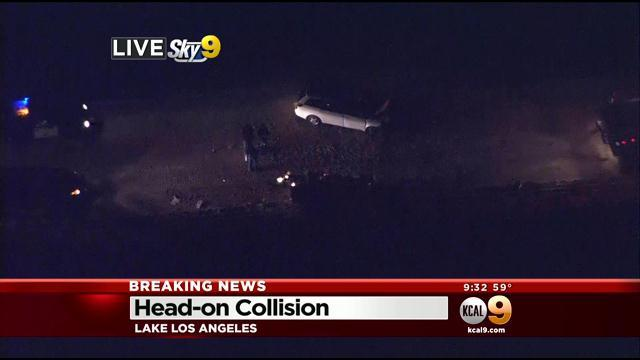 At Least 2 Critical, 6 More Injured In Head-On Crash