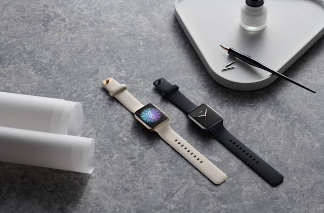 Oppo's new smartwatch runs Wear OS but with better health tracking