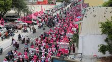 Maldives president expected to cement grip on power in election