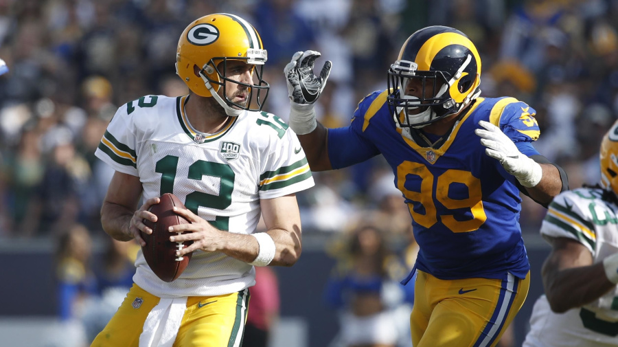 Rams will slow Rodgers, but will it be enough to beat Green Bay?