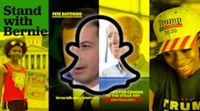 As presidential candidates spend big on advertising, only a few invest in Snapchat