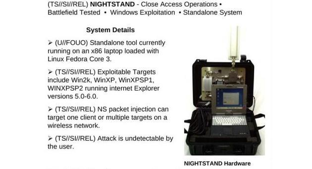 NSA can hack WiFi devices from eight miles away (video)