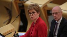 Nicola Sturgeon cuts maximum size of gatherings in Scotland to six with immediate effect