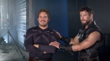 'Avengers' Stars Are 'Infatuated' With Each Other in Sweet Behind-the-Scenes Video
