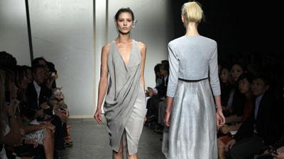 Donna Karan looks to nature for spring '13 line