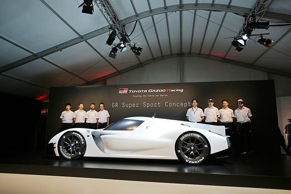 TOYOTA宣布神級超跑GR Super Sport Concept即將量產