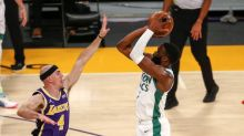 Jaylen Brown was a one-man show, and other observations from the Celtics' victory over the Lakers