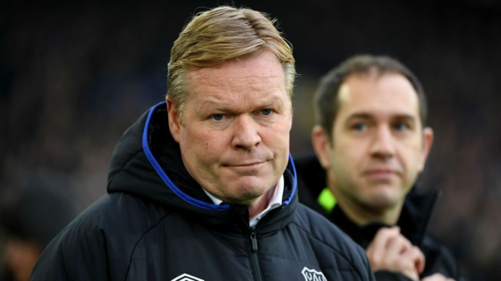 Koeman sets Everton points target for Liverpool, Man Utd matches