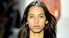Metallic Foil Lips are About to Take Over Your Makeup Bag, According to the Jeremy Scott Runway
