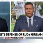 Trump tweets in defense of Rudy Giuliani
