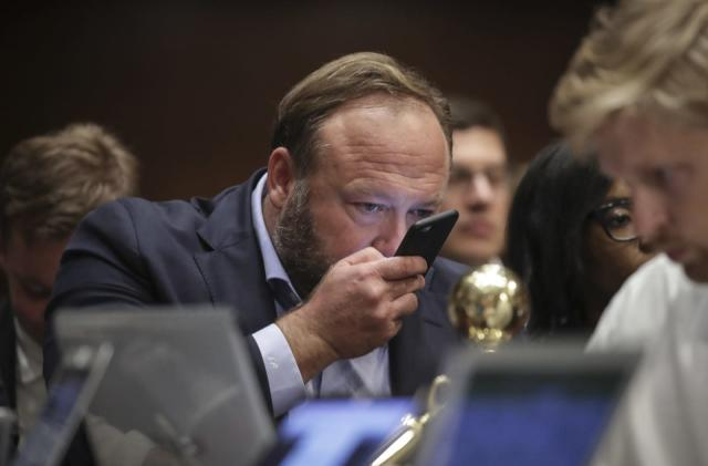 Apple yanks Alex Jones' InfoWars app