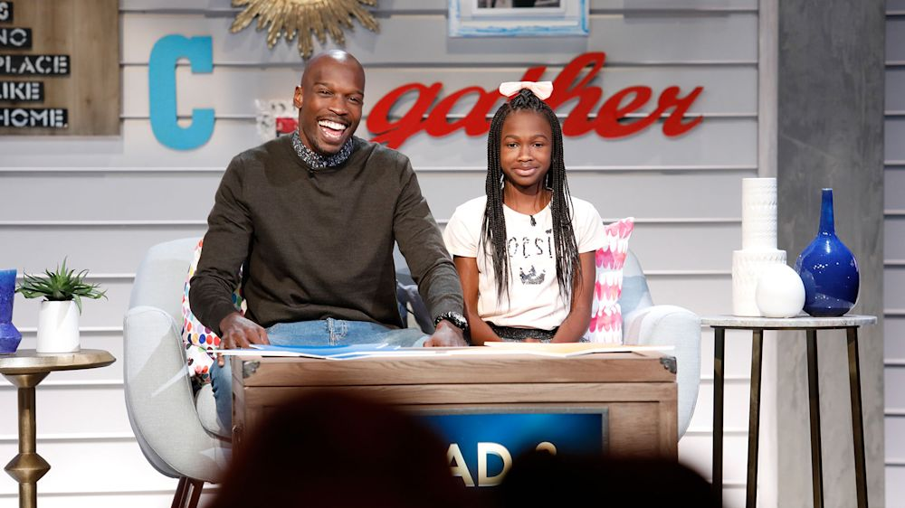 Chad and Cha'Iel Johnson. (USA Network)
