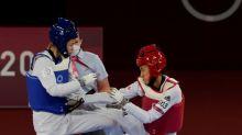 東奧/跆拳道小將羅嘉翎4強不敵美國遺憾落敗 父親:銅牌戰加油
