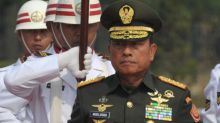 "Indonesia's armed forces chief says ""no apology"" for warship's name"
