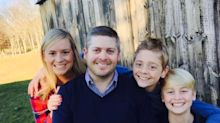 Coronavirus: Dad's 'horrific' warning after his family all test positive