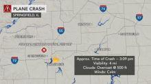 Small plane crashes in Illinois killing 3 people, 1 dog