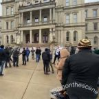 Armed Protesters Gather at Michigan State Capitol Amid Heavy Security