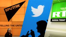 Twitter cracks down on ads by Russian news sites RT and Sputnik