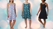 ¿Cansada de usar ropa que te da calor? Descubre lo que es la frescura con este vestido 'Freezer' de 24 dólares