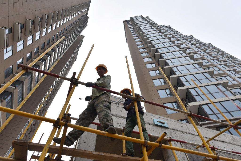 Debt-fuelled investment in infrastructure and real estate has underpinned China's growth for years but Beijing has launched a crackdown over fears of a potential financial crisis
