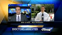 Arrested doctors appear in court