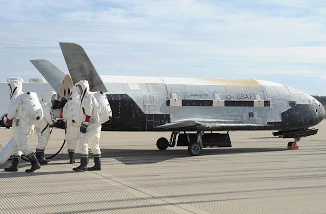 Air Force's mysterious space drone returns after two years in orbit
