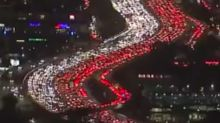 Look At The Fresh Hell That Is The Los Angeles Freeway Before Thanksgiving