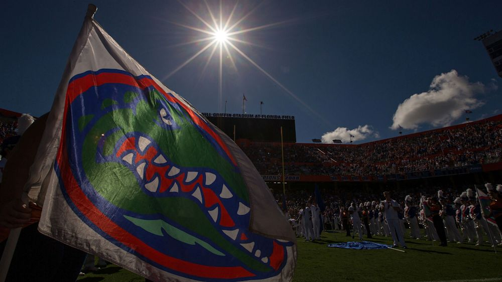 Stetson mocks 'mighty Gators' as Florida declines to resume game after rain delay