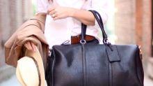 10 Stylish Travel Bags For A Lavish Weekend Getaway