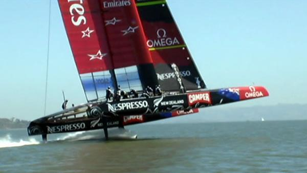 A closer look at the America's Cup catamarans