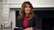 Apparently Melania Trump and her husband actually have private conversations