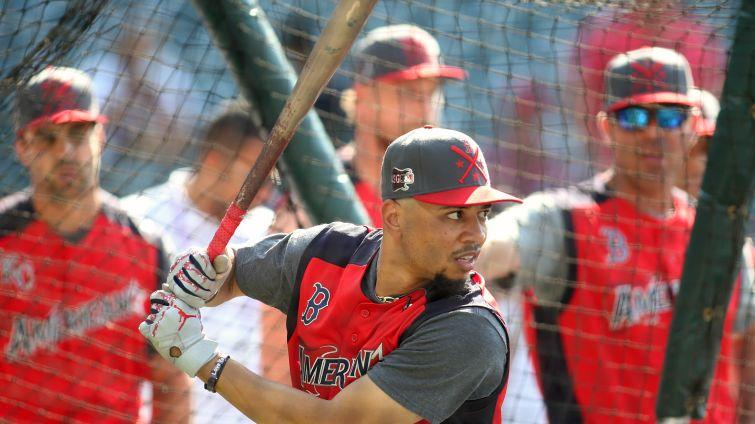 Here's why Mookie Betts didn't get an at-bat in 2019 MLB All-Star Game