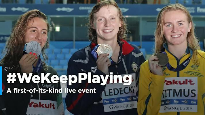 Icons join forces for #WeKeepPlaying livestream