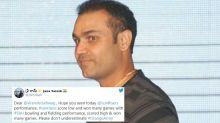 Virender Sehwag Faces Heat for Mocking Sunrisers Hyderabad With 'Walkover' Remark in IPL