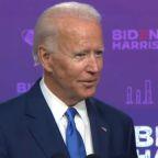 Former Vice President Joe Biden says he'd mandate masks on federal property