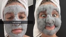 These hilarious bubbling facial mask photos will make you want to try one